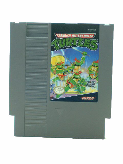 NES Teenage Muntant Ninja Turtles - 1989