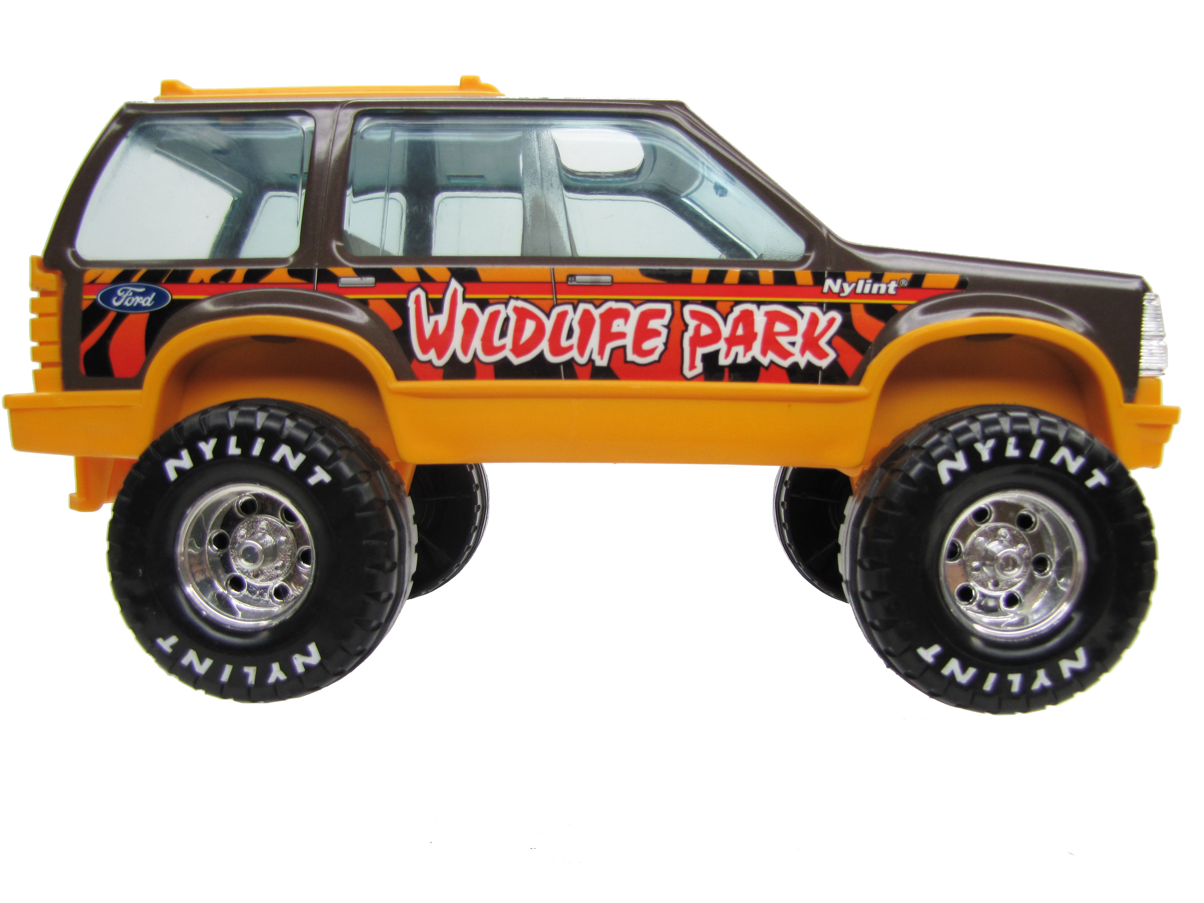 1980's Vintage Nylint Ford Bronco Wildlife Park Complete Mint