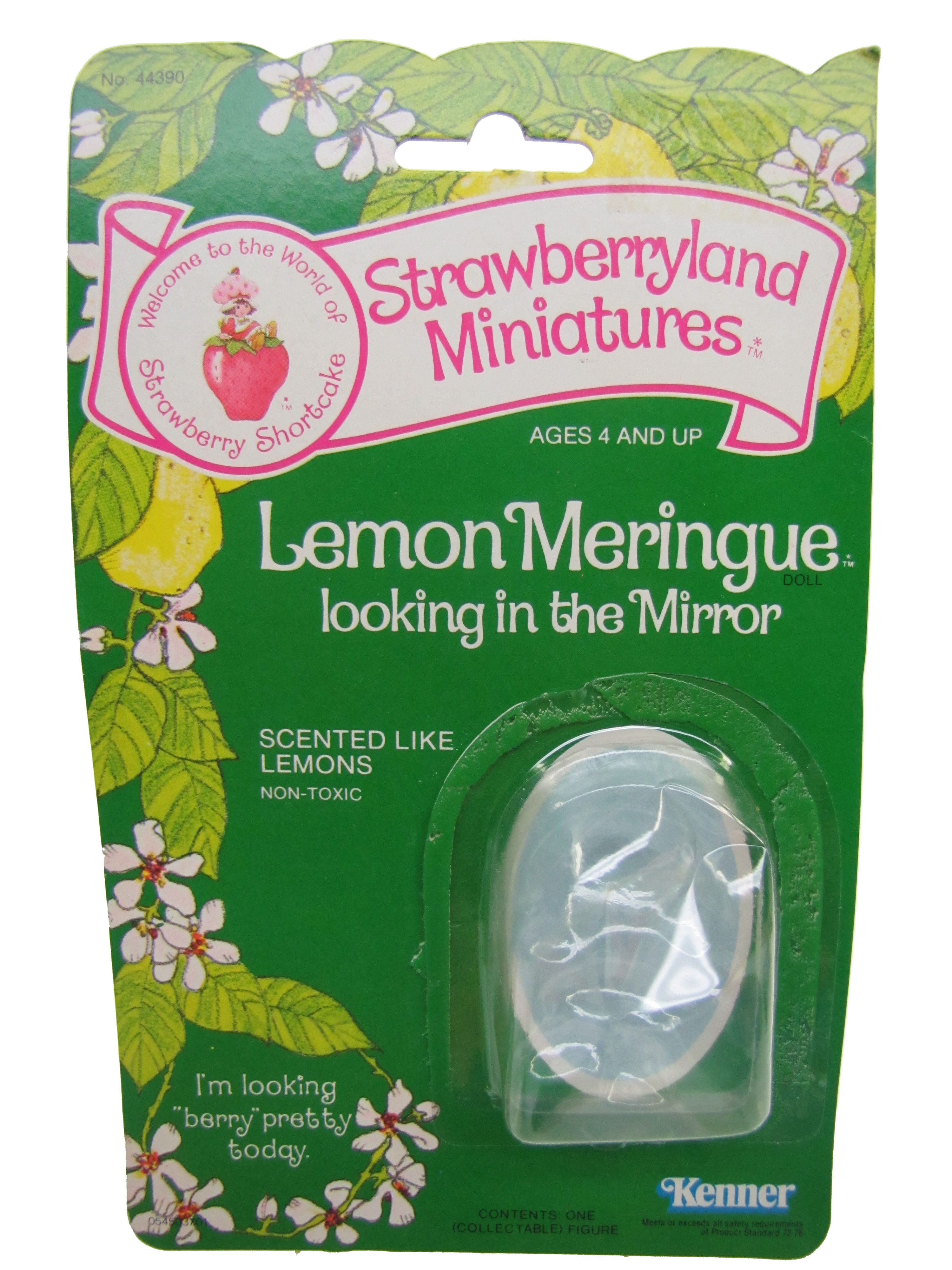 Strawberryland Miniatures Lemon Meringue Looking in Mirror Card