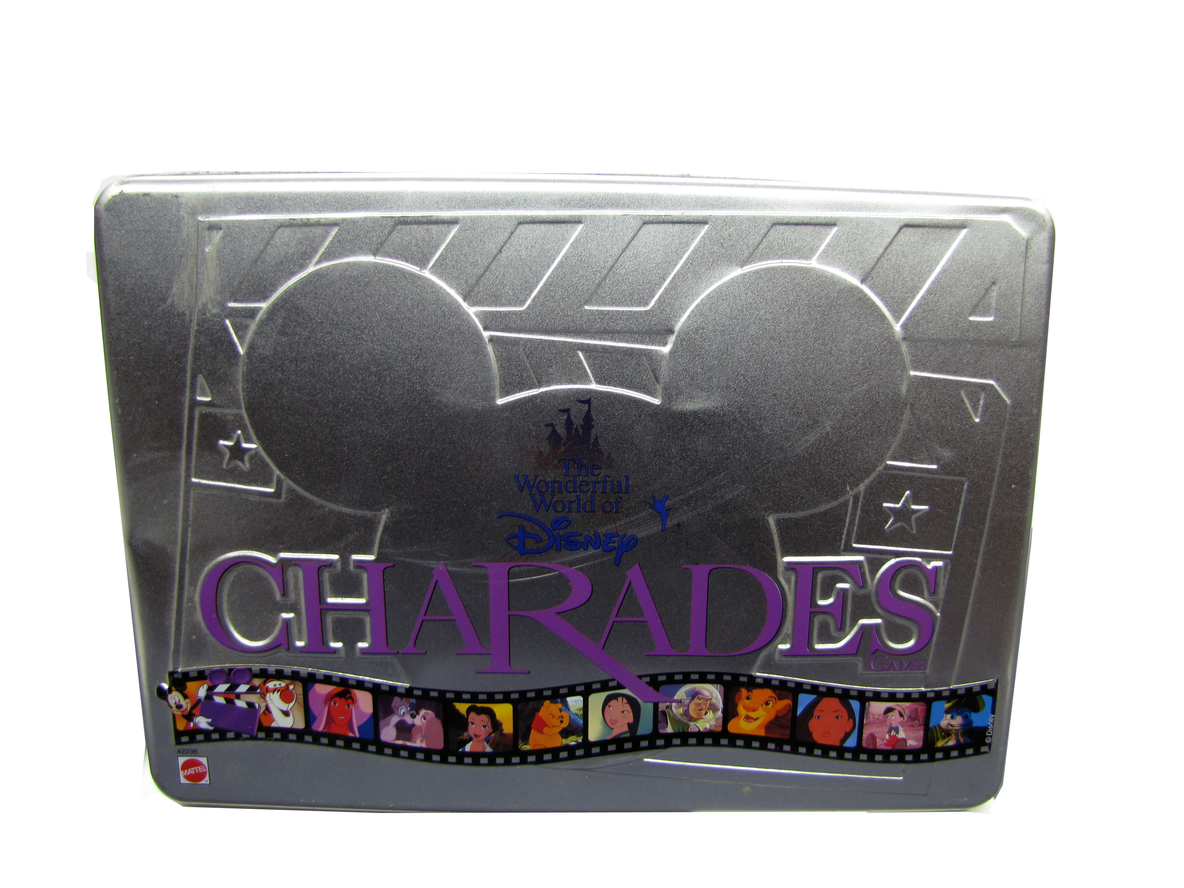 1999 The Wonderful World of Disney Charades Board Game Complete
