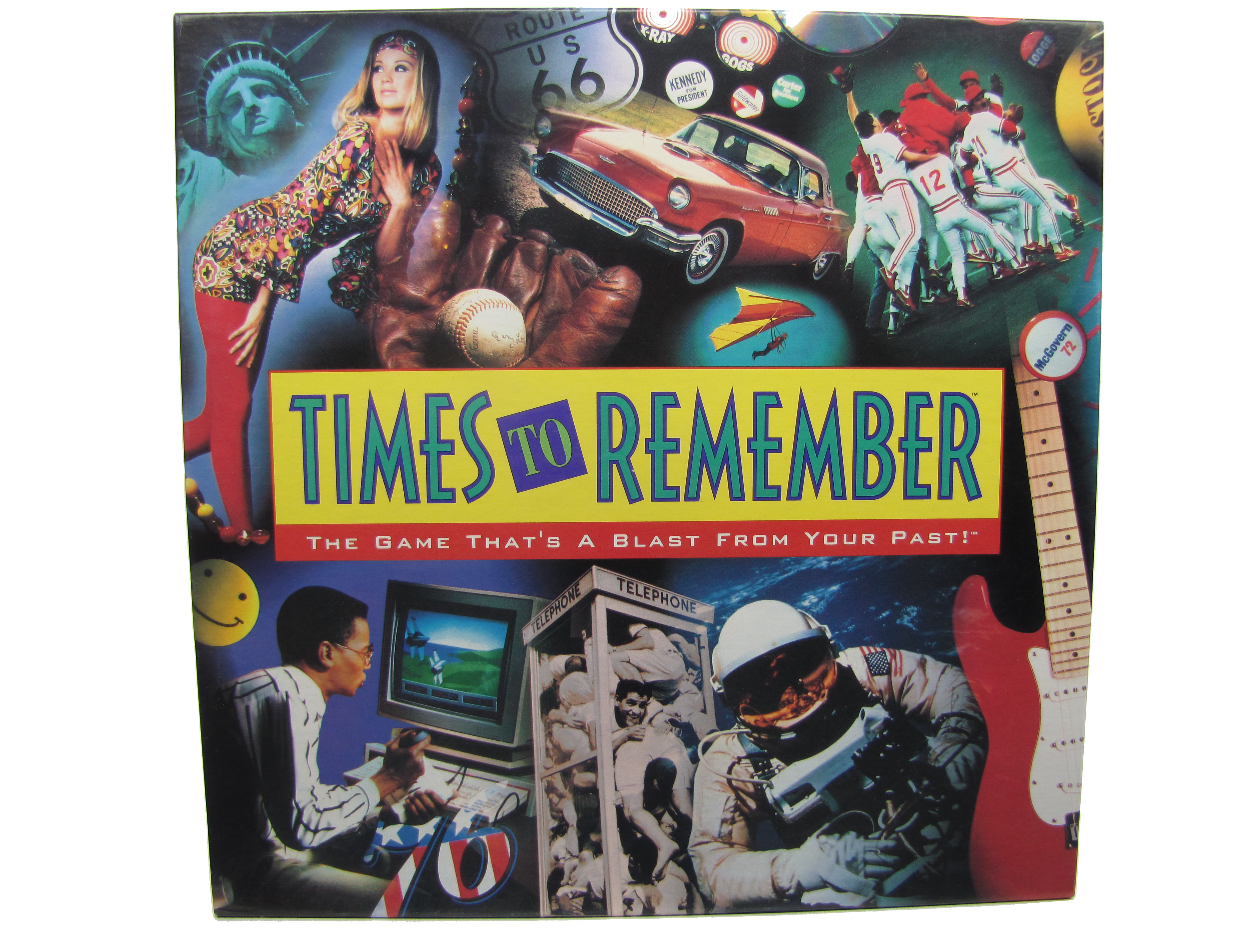 1992 Times to Remember Board Game Complete