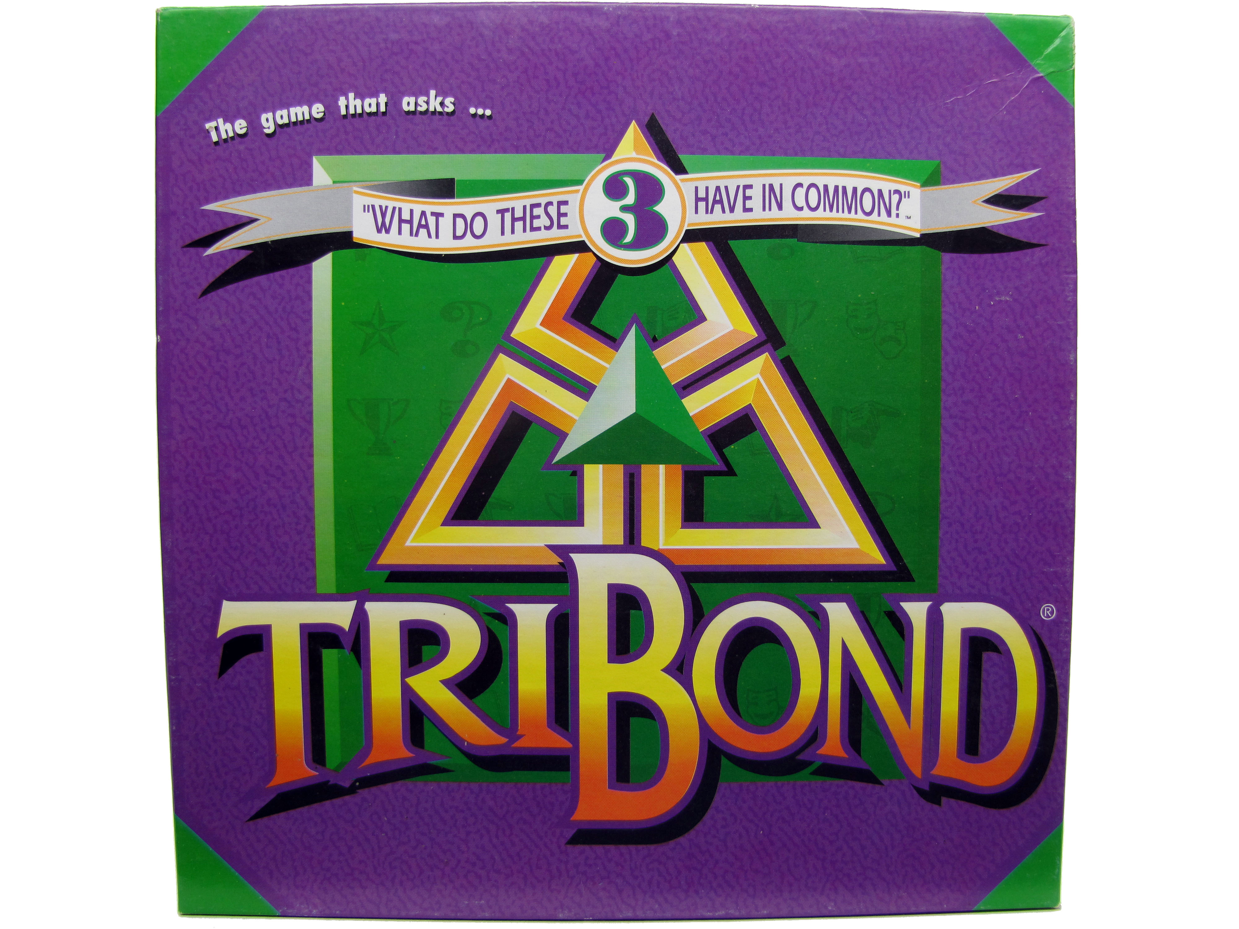 1992 TriBond Board Game Complete